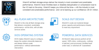 XtremIO all-flash storage array