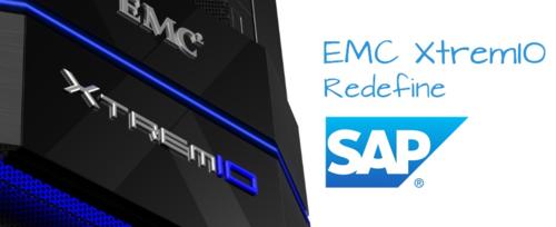 EMC XtremIO Redefines SAP