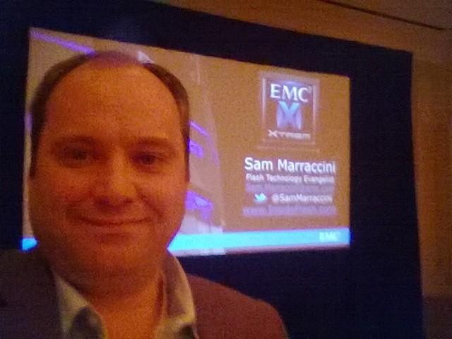 2013-10-23 EMC Forum Dallas - Sam Marraccini